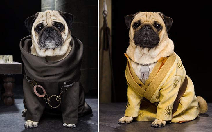 Grand Maester Pycelle and Oberyn Martell