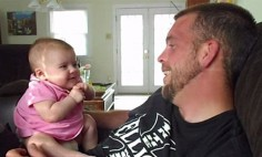 "This Dad says ""I Love You"" To His Baby Girl, You Won't Believe What Happened Next!"