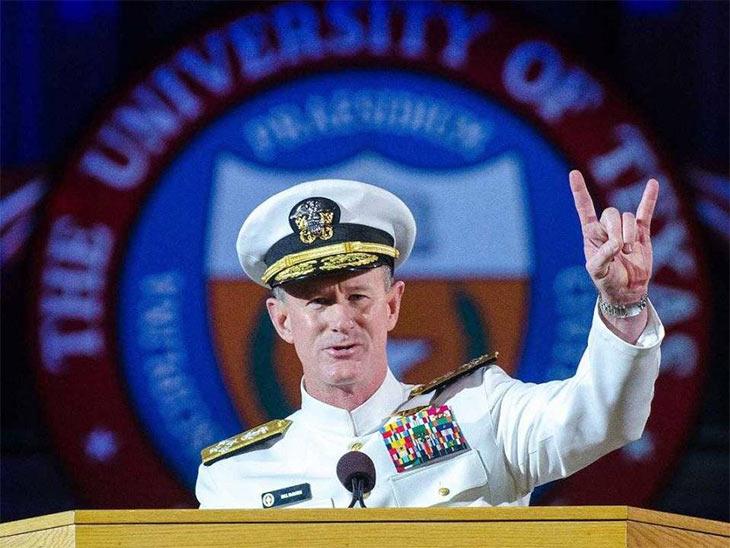 Naval Admiral William H. McRaven