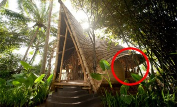 Do You Think Living In Bamboo Huts Are Underprivileged? Think Again!