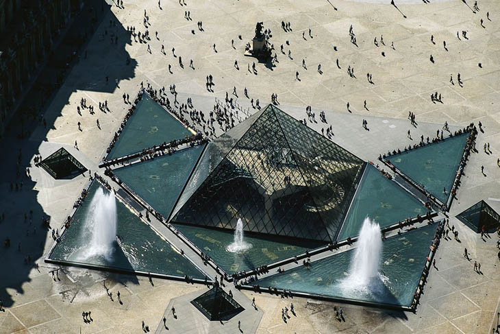 Pyramid of the Louvre, Paris, France