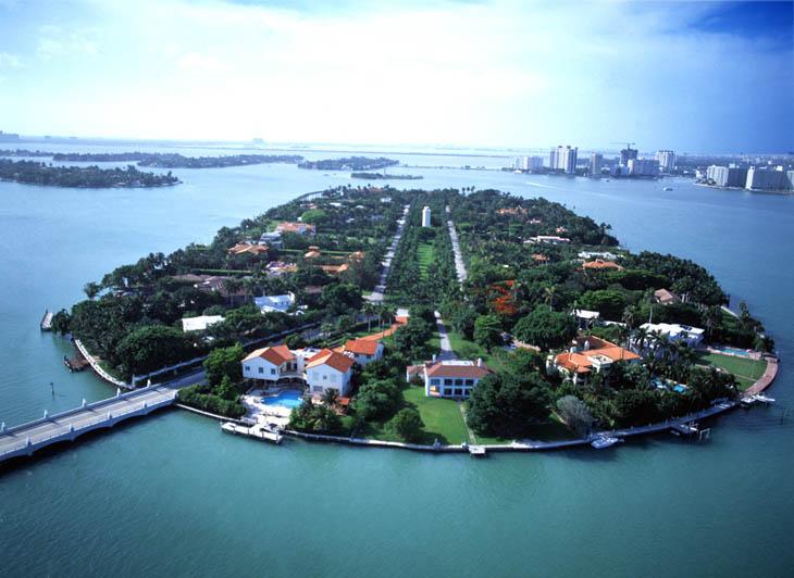 Star Island, Miami, Florida