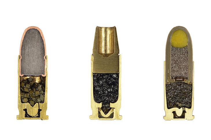 Ammunition cross-sections