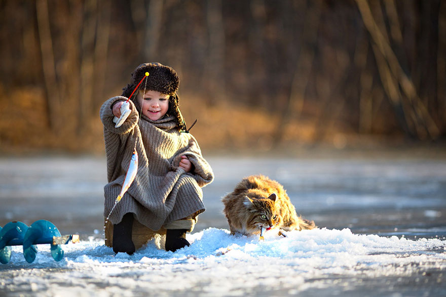 Children Playing in Russia