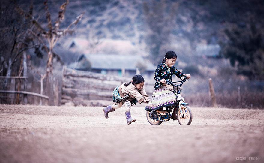 Children Playing in Vietnam