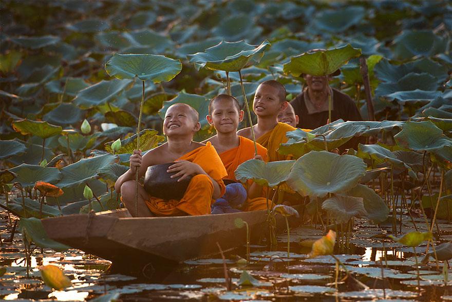 Children Playing in Thailand