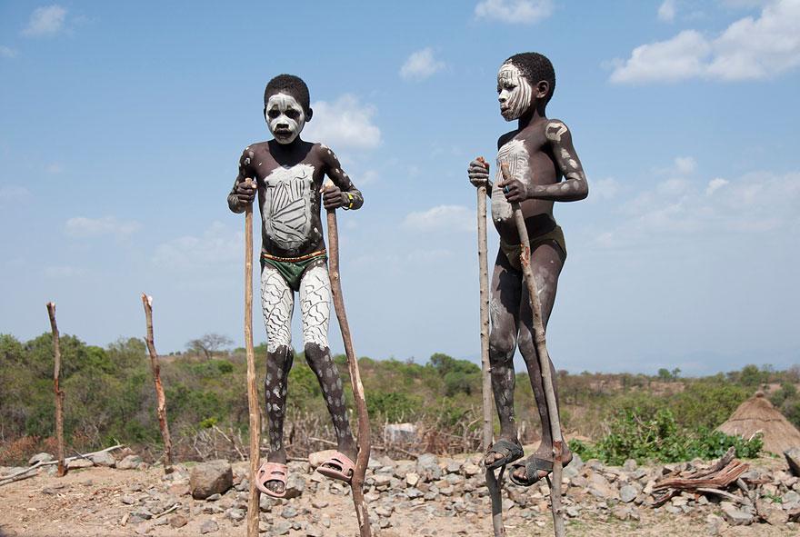Children Playing in Ethiopia