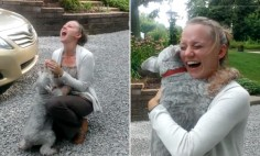 She Hadn't Seen Her Dog For 2 Years. What Happened Next Melted Every Heart.
