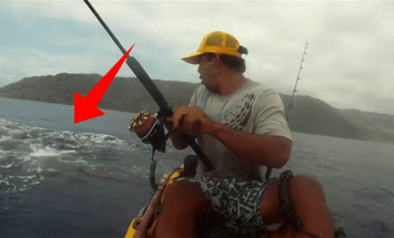 This Fisherman Saw Something In The Ocean. You Will Be Shocked What It Was!
