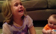 Awwww… This Girl Is Crying For The Strangest Reason Ever. It's Adorable!