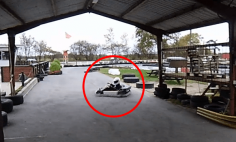 This Little Kid Does an Jaw-Dropping Parking Stunt With a Go-Kart. You'll Love It!!