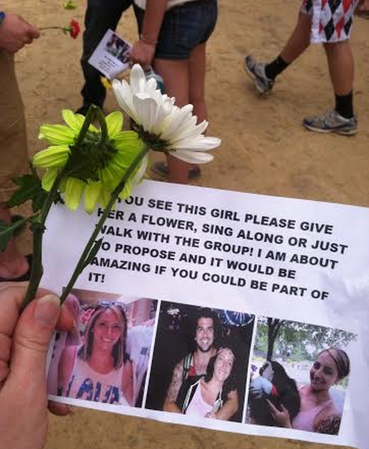 She Had No Idea Why Strangers Were Giving Her Flowers Until The