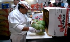 You've Been Peeling Watermelon The Wrong Way Your Whole Life! Must See!