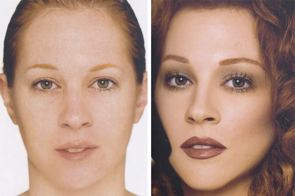 30 before after photos that shows the power of makeup