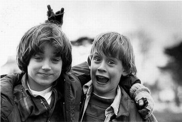 Elijah Wood & Macaulay Culkin - 1993