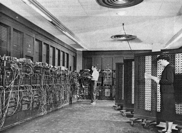 The US-built ENIAC