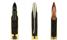 She Sliced The Bullets Perfectly In Half And It Looks Incredible… WOW!