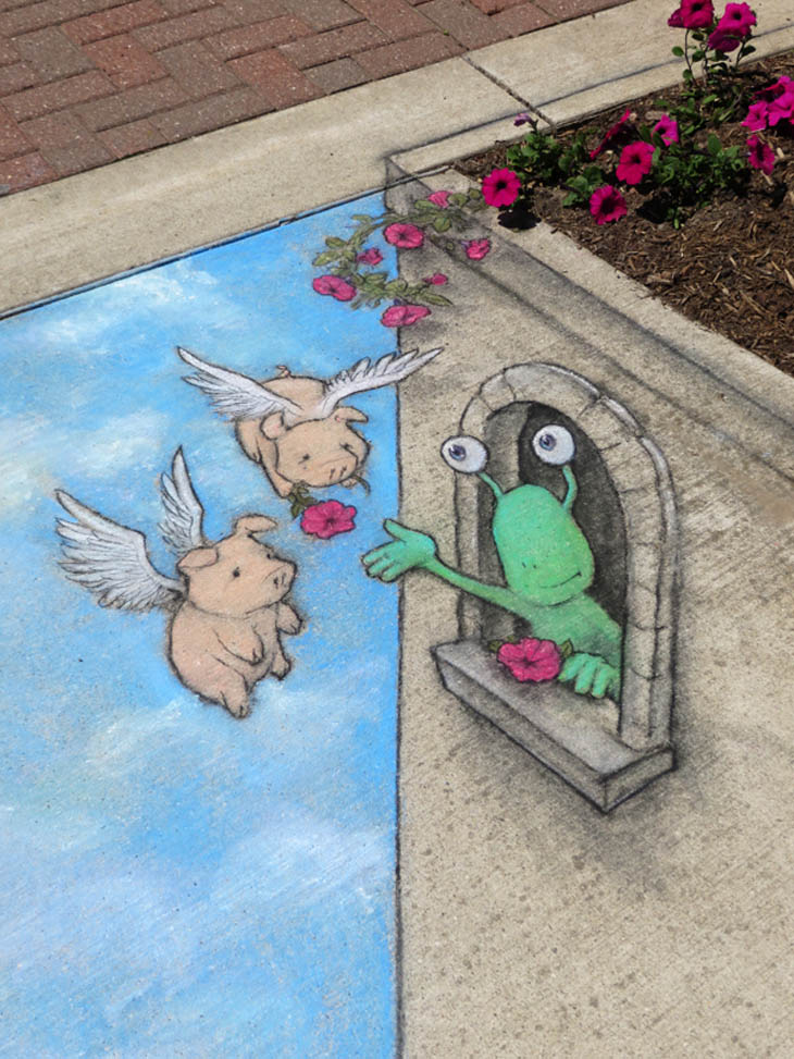 When Street Art Meets Mother Nature