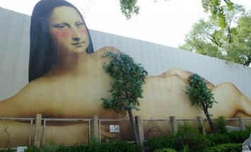See What Happens When Street Art Meets Mother Nature. Mind Blowing!