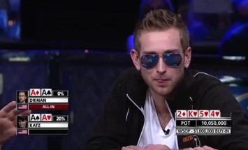 Ouch… See How This Poker Player Loses $1 Million On Worst Tournament Bad Beat Ever!