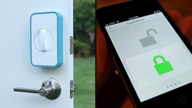 Lockitron lets you unlock your front door from your smartphone.