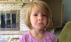 This Cute Little Girl Regretting Deleting Photos Of Her Uncle. This is Too Cute!!!