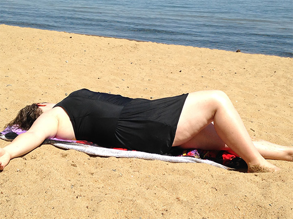 Bridgette White Photo At Beach
