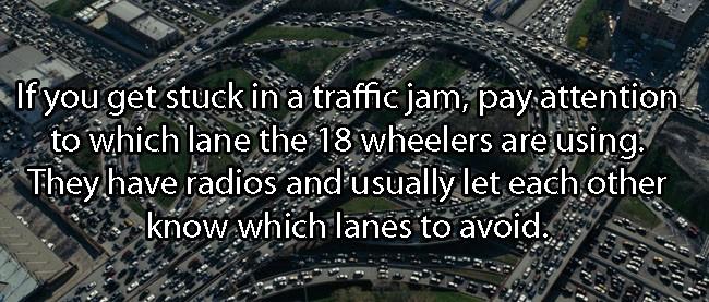 Car and Driving Hacks