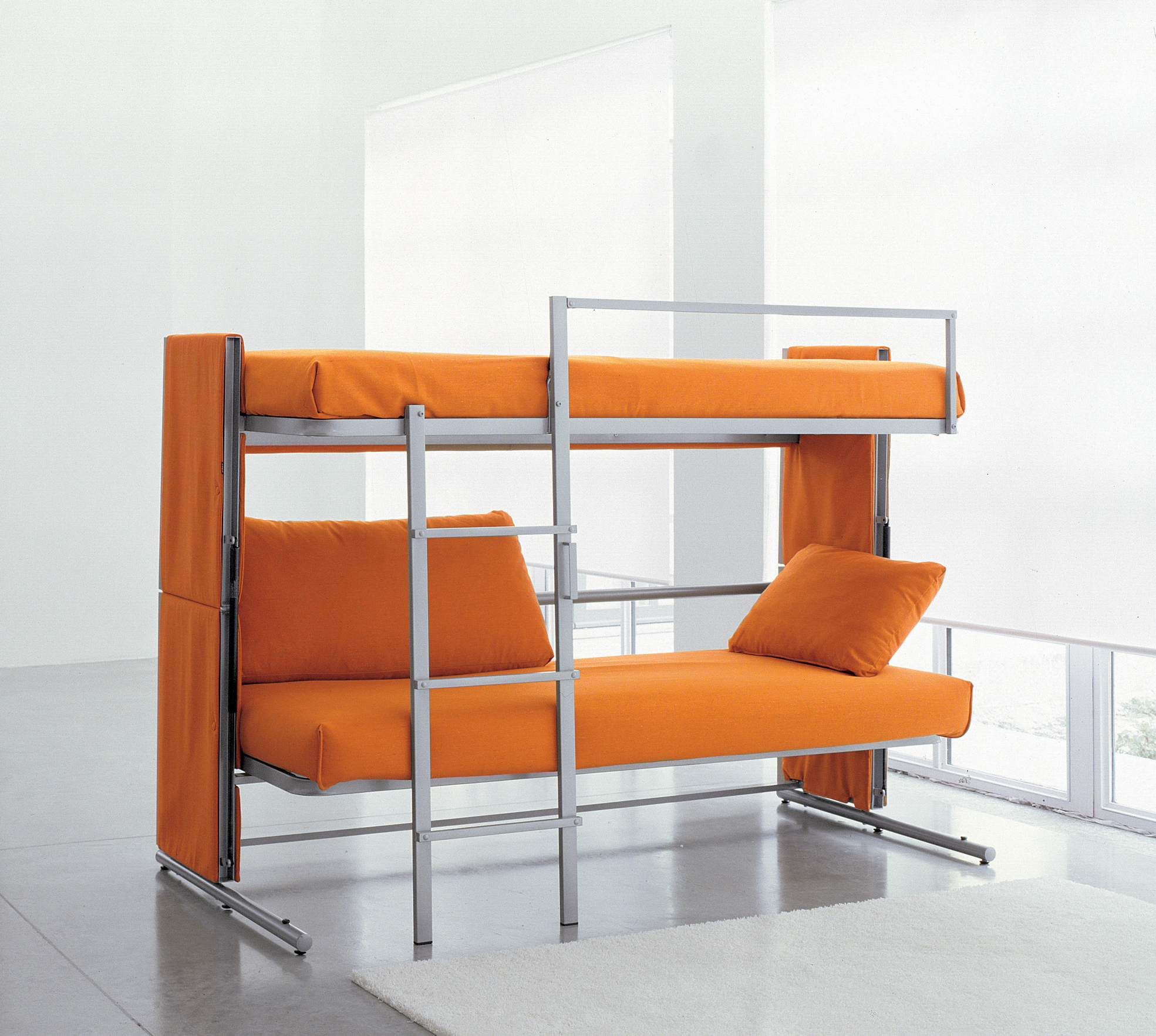 Creative Furniture Ideas Part - 20: Sofa Bunk Bed