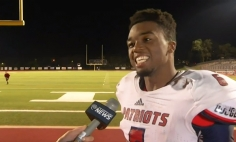 Most Epic High School Football Player Postgame Interview Ever. Highly Inspirational!