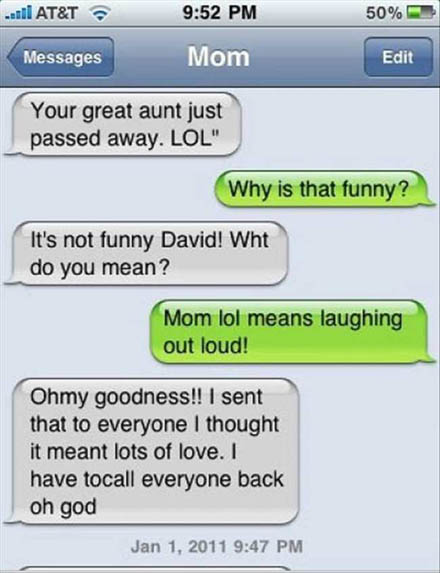 Funniest Texts Between Parents And Their Children