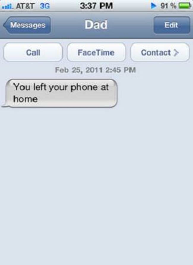 Image of: Ever Funniest Texts Between Parents And Their Children Kickvick 31 Funniest Texts Ever Sent By Parents To Their Children