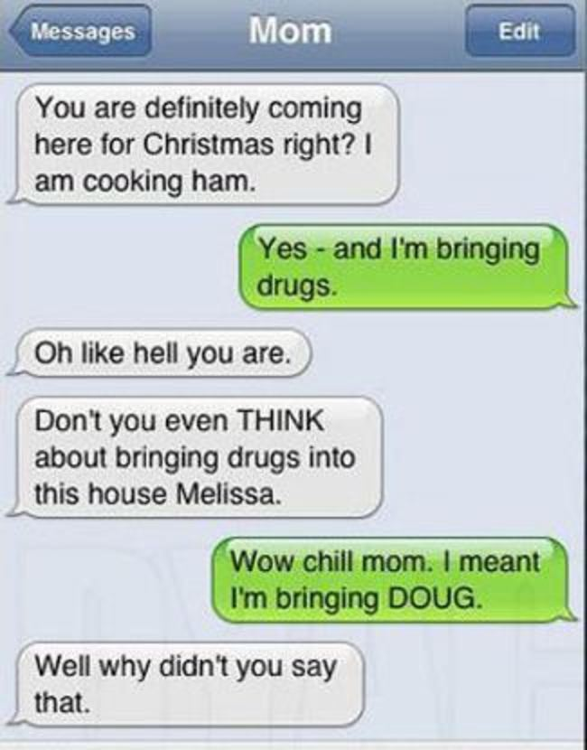 Image of: Sent Funniest Texts Between Parents And Their Children Kickvick 31 Funniest Texts Ever Sent By Parents To Their Children