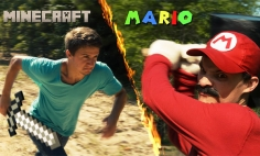 What Happens When Mario And Minecraft Steve Meets? You'll Be Surprised!