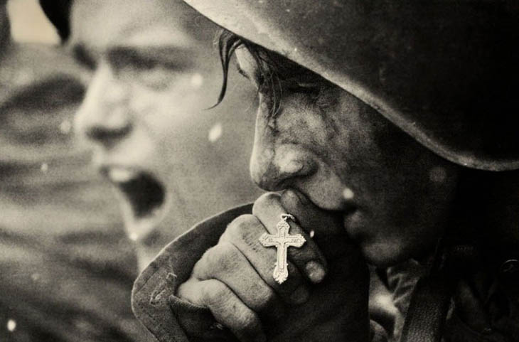 Powerful photos - Russian soldiers preparing for the Battle of Kursk, July 1943