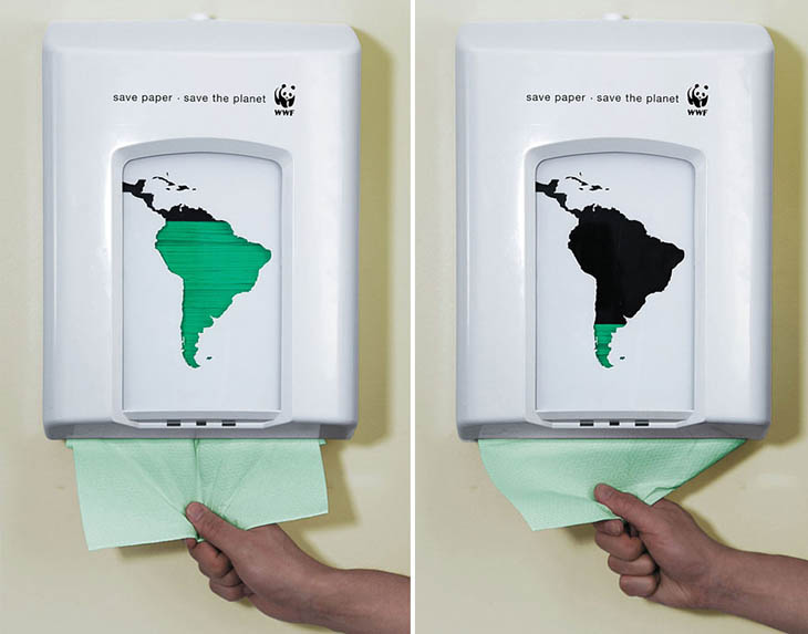 Save Paper – Save The Planet.