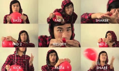 I NEVER Knew You Could Do This With Red Balloons. This Is Just Creative!