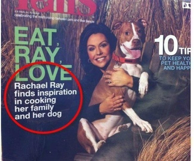 Now Rachael Ray truly exposed.