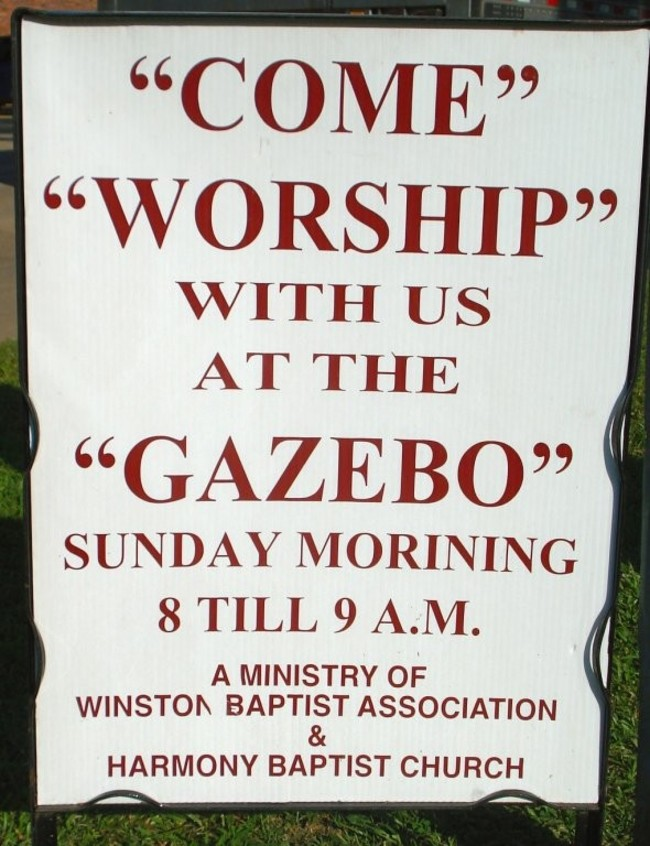 Proofread Mistakes - Is it a church or a doomsday cult.