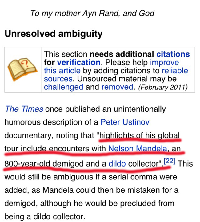 Proofread Mistakes - I never knew this enlightening fact about Nelson Mandela.