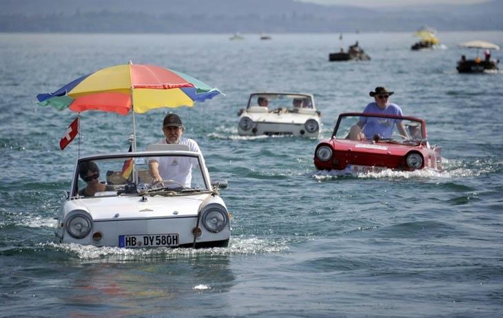 Carboat fun in Switzerland.
