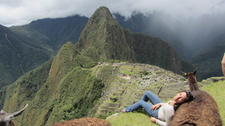 Awesome Lounging Places - Resting in Machu Picchu.