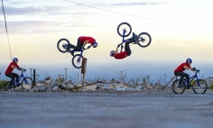 Here's The World's First Bump Front Flip Ever Recorded. How Awesome!