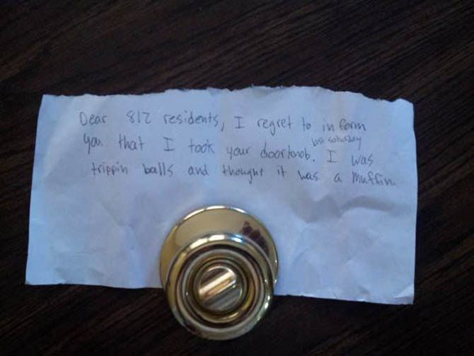 Important But Funny Notes From Total Strangers