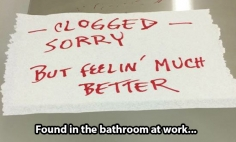 These People Who Got Important But Funny Notes From Total Strangers. #17 Is Epic!