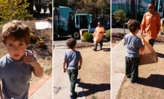 What This Garbage Man Did For A Kid With Autism Will Melt Your Heart.
