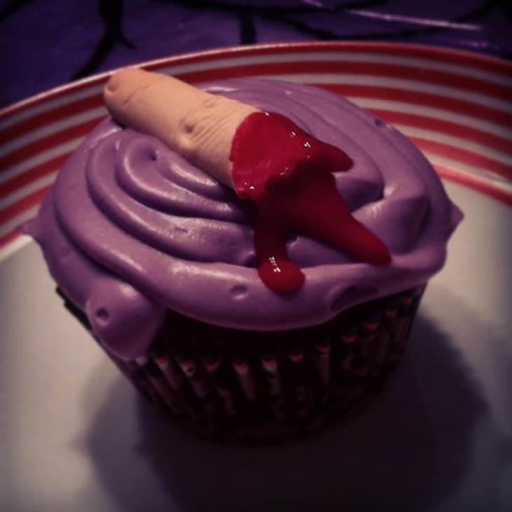 Finger Cupcake