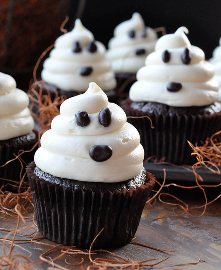 Ghosts Cupcakes