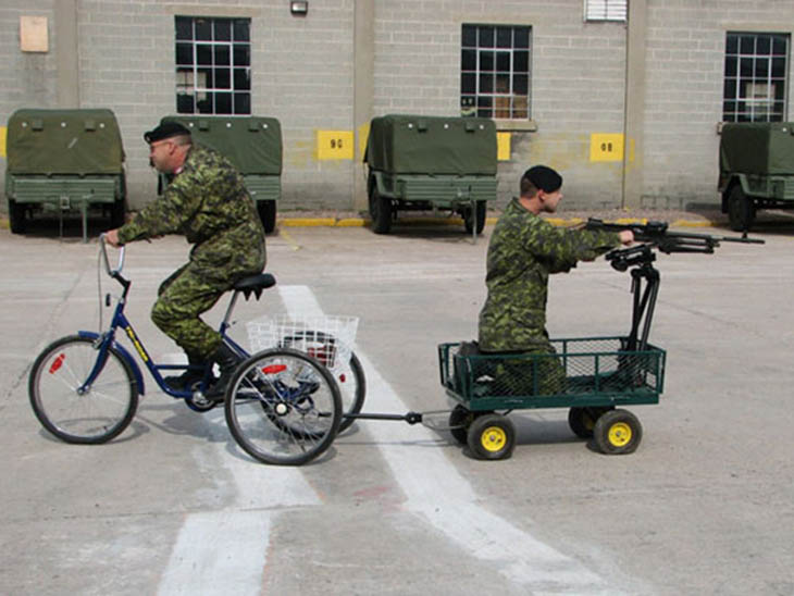 Creative Army Transportation Testing