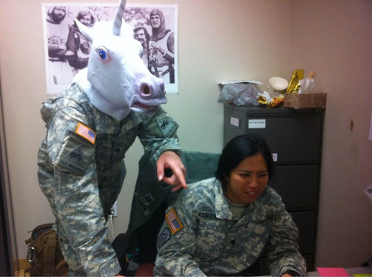 Wildlife Friendly Army Helmets